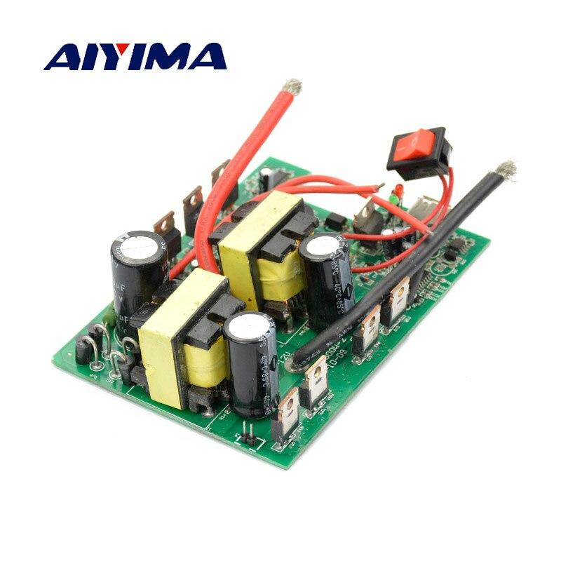 Aiyima 1PC Inverter 12v to 220v 600W -1200W DC-AC Converter Board Boost Transformer Power