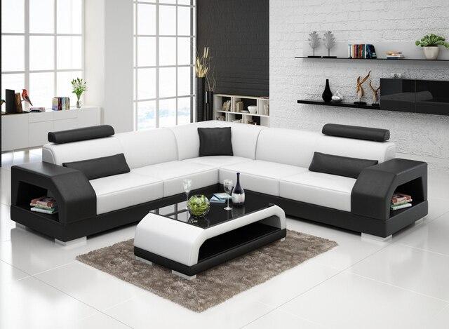 beliebte moderne mobel sofa leder benutzerdefinierte sitzgruppe design g8001b