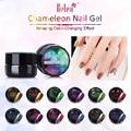 Belen 5ml Gel Polish Varnishes Color Changing Nails Glue Acrylic Paint Polish Nail Brush UV Gel Nail Polish Bling Chameleon Gel