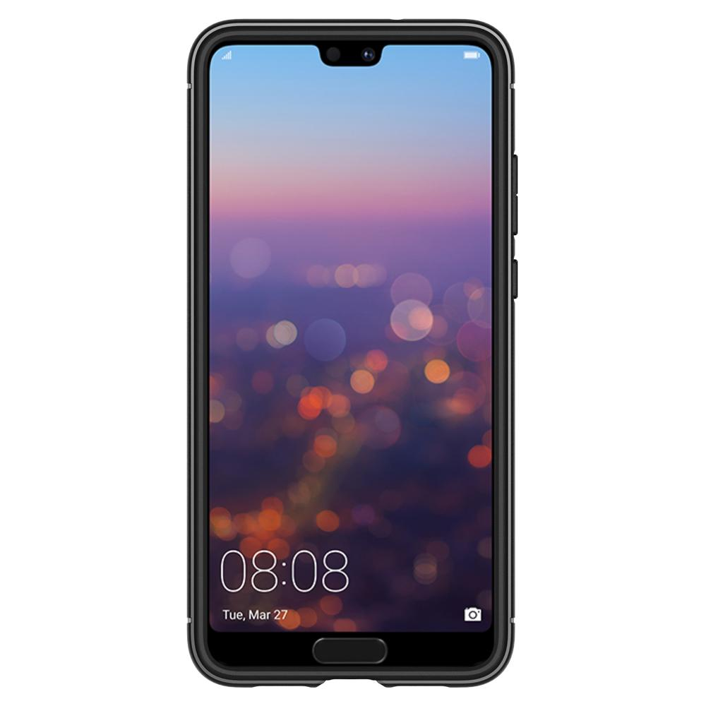 on sale 45a39 b96b6 US $16.99 |100% Original Spigen Huawei P20 Pro Case Rugged Armor Black  L23CS23083-in Fitted Cases from Cellphones & Telecommunications on ...