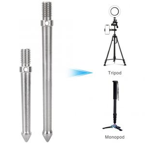 Image 1 - Metal Spike Mount Adapter for Tripod Monopod with 3/8 Inch Screw Thread Camera Accessories