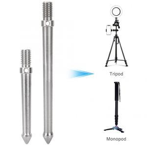 Image 1 - Metalen Spike Mount Adapter Voor Statief Monopod Met 3/8 Inch Schroefdraad Camera Accessoires