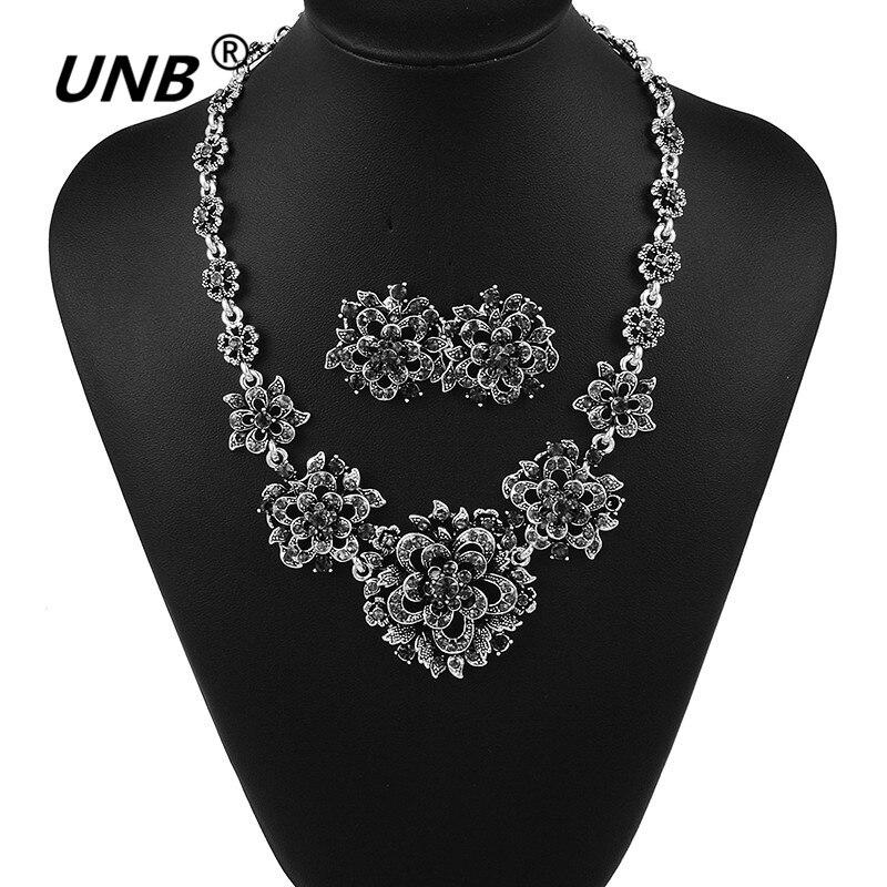 Новое поступление 2017 года модная металлическая ZA цветок Подвески и Ожерелья для мужчин Винтаж кристалл ожерелье заявление Цепочки и ожерел... ...
