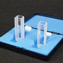 2 шт 10 мм Длина пути JGS1 кварцевая кювета ячейка с крышкой для спектрофотометров