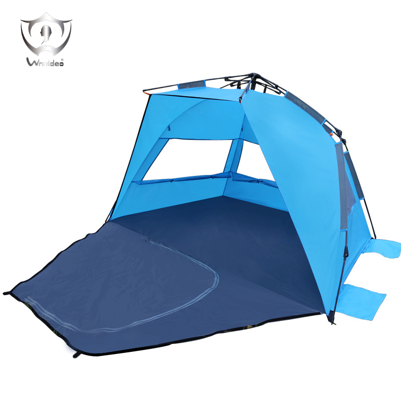 Beach Tent Umbrella Automatic Quick Instant Pop-Up Waterproof Sunscreen Tent Multi-purpose for Fishing Hiking Camping 210T PU ZQ outdoor camping hiking automatic camping tent 4person double layer family tent sun shelter gazebo beach tent awning tourist tent