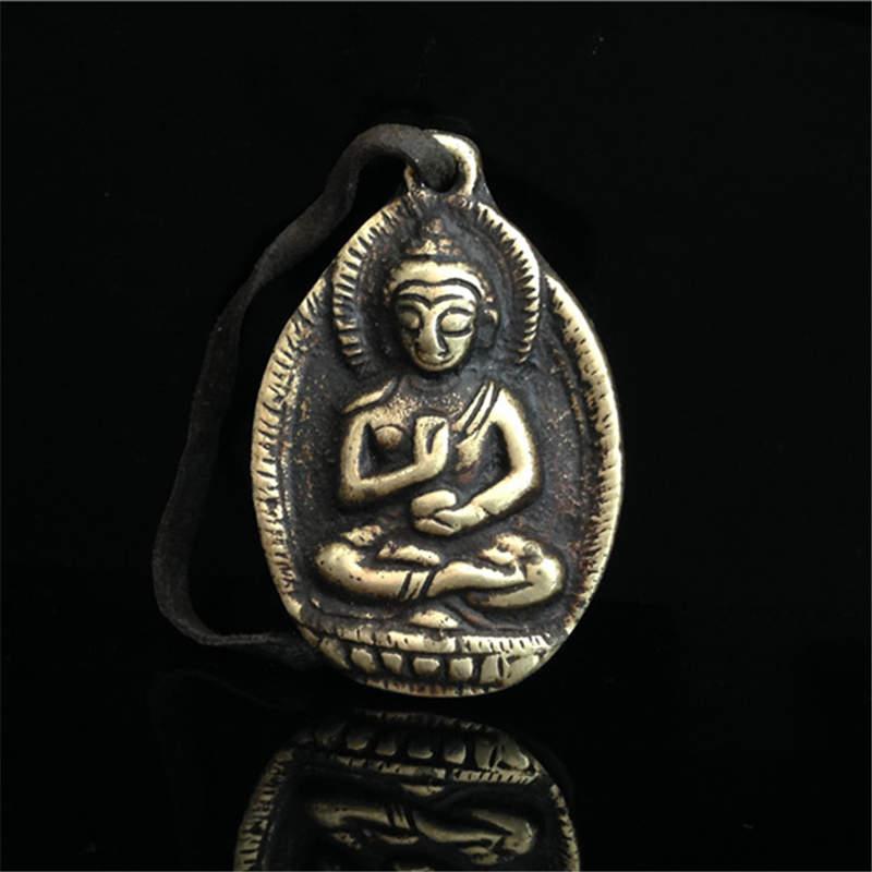 Aliexpress.com : Buy TBP377 Tibetan Buddha Amulet Pendants Medicine Pocket Buddha Old Brass