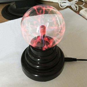 Image 4 - Caja de lámpara de Lava para niños, Bola de Plasma, luz Retro, 3 pulgadas, regalo de Navidad, decoración de habitación