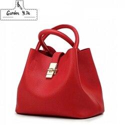 2018 Винтаж Для женщин Сумки известный бренд моды конфеты плеча сумки женские простые трапеция Для женщин сумка