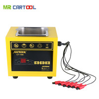 AUTOOL CT 100 gasonline Car Motorcycle Auto Ultrasonic Injector Cleaning machine 220V/110V CT100 MINI Fuel Injector Cleaner