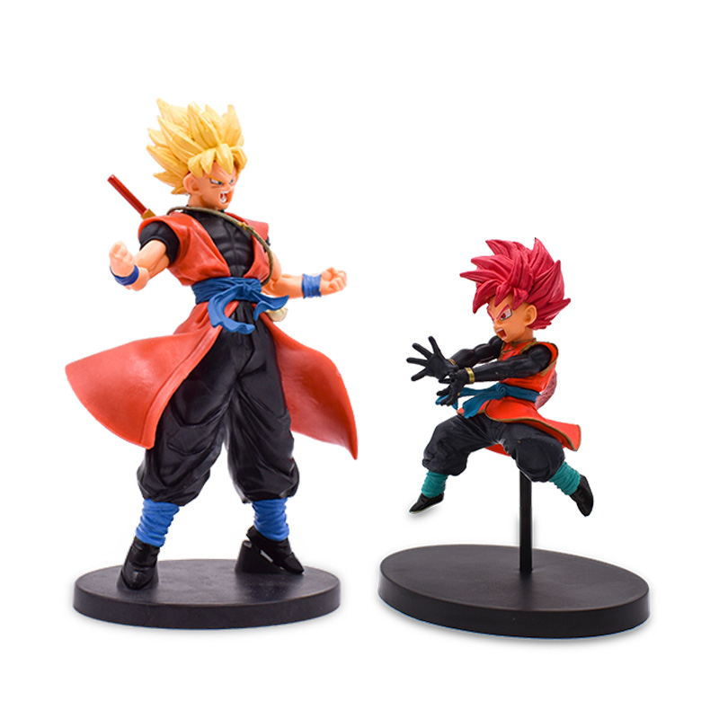 2 styles Anime Dragon Ball Super Heroes Son Goku Gohan PVC Action Figure Doll Collectible Model Toy Christmas Gift For Children