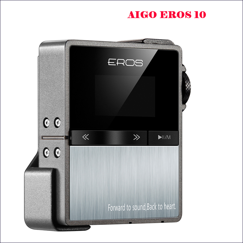 Aigo EROS 10 Hi-res Flac Player Audio Portable Mp3 Player Bluetooth Hi fi Lossless Music Player Mp3 Hifi Player Mp3 bluetooth new multi functional cervical massage body waist electric pillow shoulder back neck cushions massager