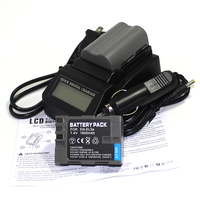 2 Pack 1800mAh EN EL3E EN EL3e ENEL3E EN EL3E Batteries LCD Fast Charger Kit For