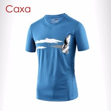 Men's Quick Dry Sport T shirt Light Weight Soft Climbing T-Shirt Basketball Outdoor Sport Running t shirt Gym Fitness Tops