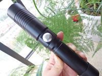 Самый мощный фонарик LAZER горящий факел 532nm 500 Вт SOS фокус зеленый лазерная указка горел свет бумаги свет сжечь сигару