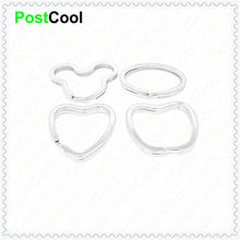 Accessories Fashion Jewelry lovely Special-shaped Mice/Egg/Heart/Apple connectors for keying/Key Holder/Split Rings/Keychain DIY(China)