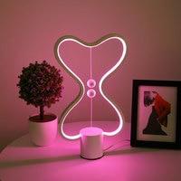 Heng Balance Lamp USB Powered 7 Color Changeable home Decor Bedroom Office Kids lava lamp Children Gift Christmas Night lamp