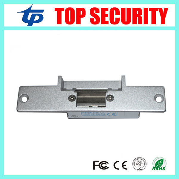 Fail Secure NO type electric strike for access control system narrow type Fail-Secure DC12V  electric strike door lock yli electronic narrow type electric strike lock electric fail secure electric door lock access control lock ys130no