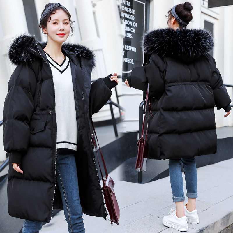 Maternity Women New Moms Fluffy Hooded Quilted Cardigan Coat Fashion Lightweight Loose Fit Warm Puffer Outdoor Winter Jackets trendy synthetic mixed color fluffy short curly side bang charming women s capless wig