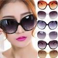 Sexy Moda Multi-cores Mulheres senhora Grande de Compras Clássico óculos de Sol Big Oval Eyewear Rodada Cat Eye Óculos de Sol