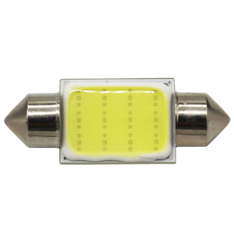 Modern Car 1pcs C5w Cob Led Dome Light Bulb 31mm 36mm 39mm 41mm C10w For Auto Reding Lights Interior Festoon Light Lamp Dc12v