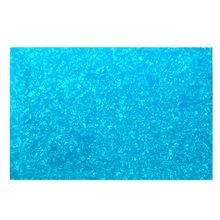 Yibuy 2.5mm 4Ply Guitar Bass Pickguard Blank Blue Pearl Color Pickguard Sheet(China)