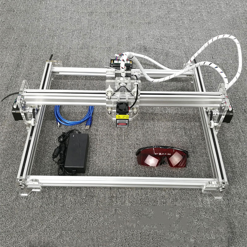 Laser Engraver 12V USB Laser Head Engraving Cutting Machine Desktop 300*400mm Wood Router