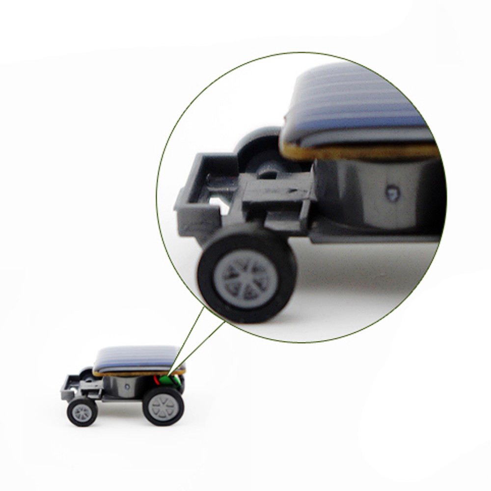Smallest Mini Solar Power Toy Car 9