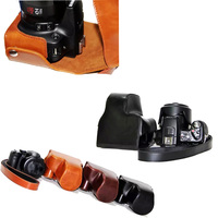 New PU Leather Camera Bag Case For Canon SX50HS SX50 SX40HS SX40 Camera Cover Pouch With