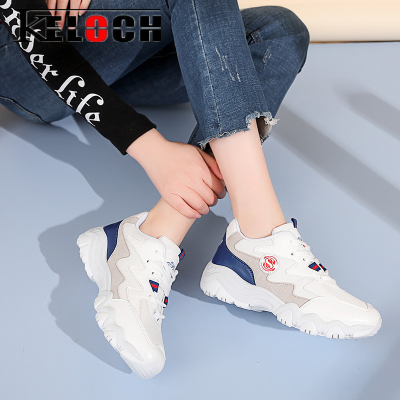 Keloch 2018 Spring New Women Casual Shoes Krasovki Summer Breathable Flats Female Platform Shoes Women Krasovki Zapatos Mujer keloch new men casual shoes fly weave mesh breathable lace up air cushion sport basket flat shoes lovers trainers zapatos mujer