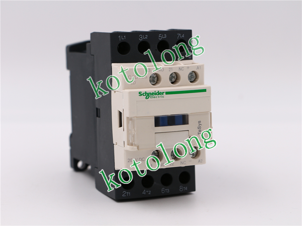 DC Contactor LC1DT25 LC1-DT25 LC1DT25LD 200V LC1DT25MD 220V LC1DT25ND 60V LC1DT25PD 155V 1pcs 12v 12volt 40a auto automotive relay socket 40 amp 4 pin relay