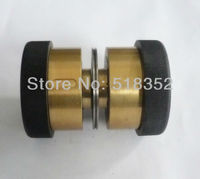 Xieye451 Guide Wheel Assembly with Brass Sleeve/ Seat and NMB Bearings dia.42mmxL60mm for Wire Cut EDM Parts