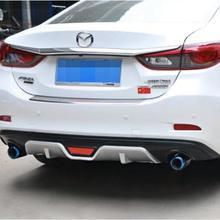 ABS Автомобильный задний бампер спойлер, Автомобильный задний бампер диффузор подходит для MAZDA 6 Atenza