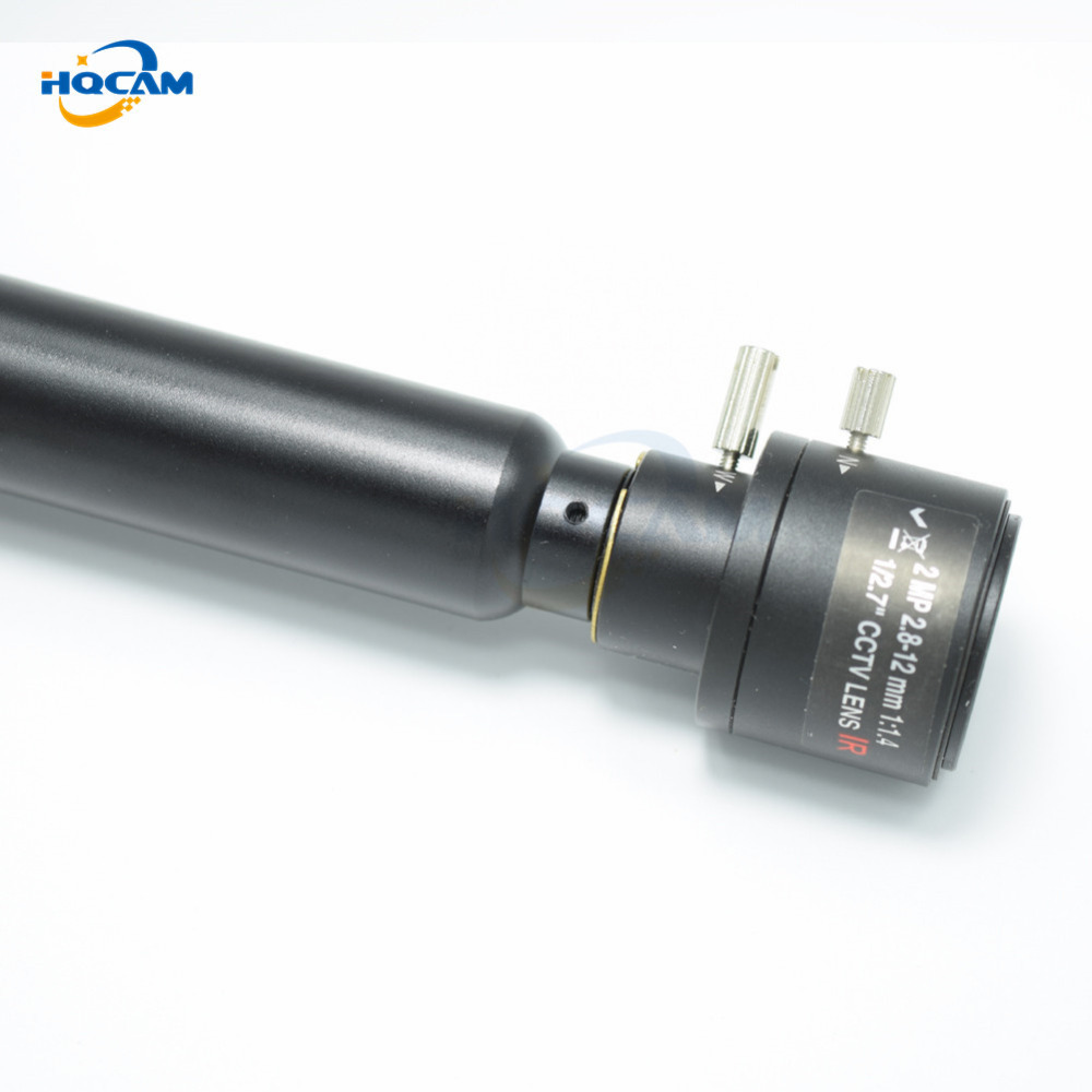 HQCAM SONY Effio 700TVL CCD OSD menu Mini Bullet Camera Indoor Security Camera 4140+810811 2.8-12mm manual varifocal zoom lens