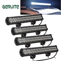 IP67 Waterproof led Driving Light 20inch 126W Combo Beam Offroad led Light Bar for Boat Car Tractor Truck 4x4 SUV ATV Fog Light