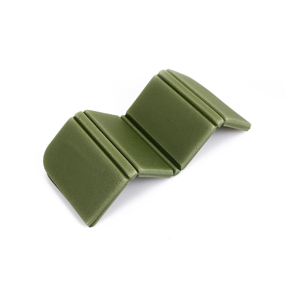 8 цветов коврик для отдыха на природе Мягкий складной походный коврик для пикника Рыбалка на открытом воздухе 275 мм влагостойкая Сидящая Подушка пляжный парк - Цвет: army green