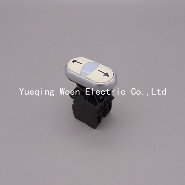 220V 22mm 2NO With lamp button arrow push button switches momentary button momentary pushbutton switch button switch цена