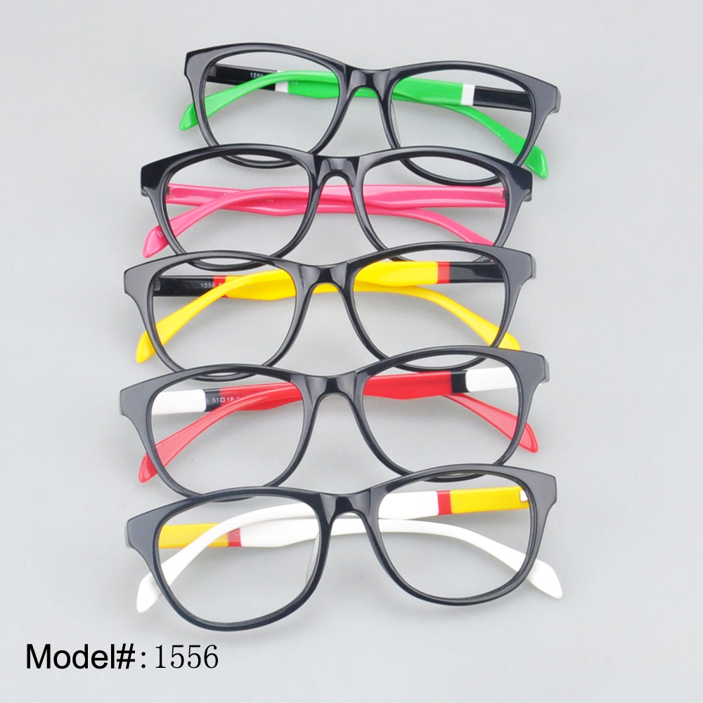 1556 full rim colorful acetate for unisex online store optical frame eyeglasses myopia prescriptionspectacles eyewear glasses