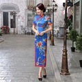 Free Shipping 2017 Cheongsam Traditional Chinese Long Oriental Chinese Qipao dresses