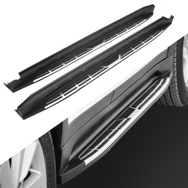 2 PCS Side Step FIT for Hyundai Tucson 2015 2016 2017 2018 2019 2020 Running Board Nerf Bar Platform Iboard image