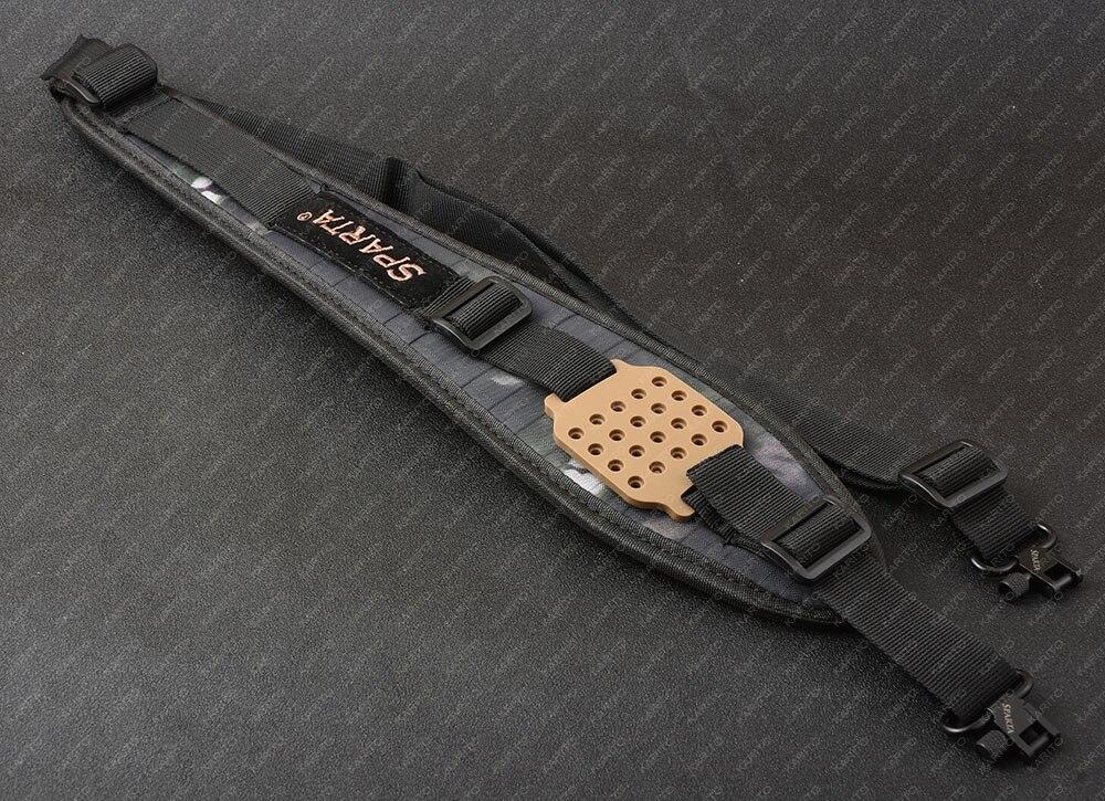 Спарта высокое качество дробовика винтовки pcp пистолет все стали qd Вертлюги слинг для arisoft 1 дюймов слинг M5009