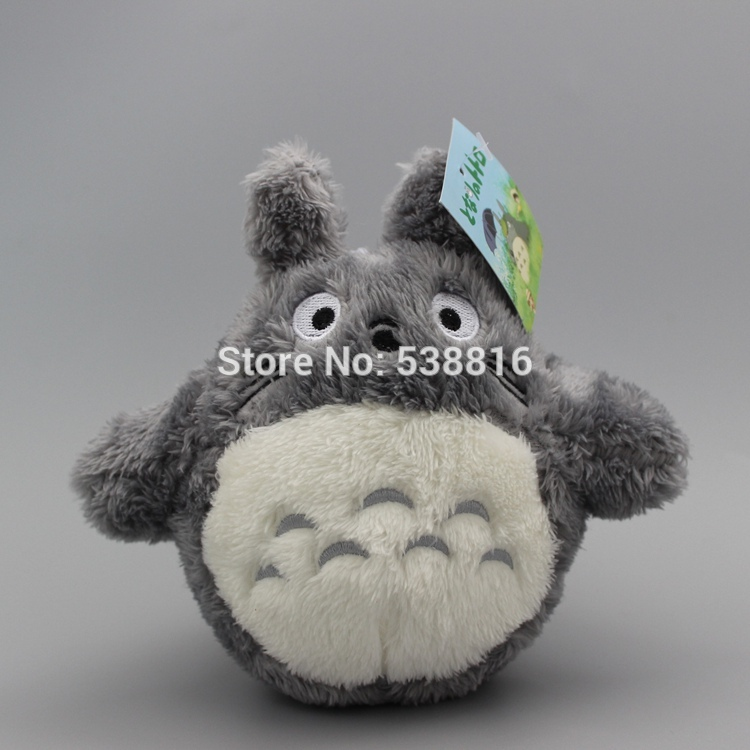 Anime 7 18cm Miyazaki Hayao My Neighbor Totoro Plush Dolls Cute Stuffed Animal Dolls Children Gift original totoro big cat bus miyazaki hayao ghibli cute stuffed animal plush toy doll birthday gift children boy girl gift