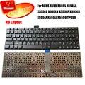 100% nova Marca de Teclado Russo para ASUS X555 X555L X555LA X555LD X555LN X555LP X555LB X555LF X555LI X555U TP550