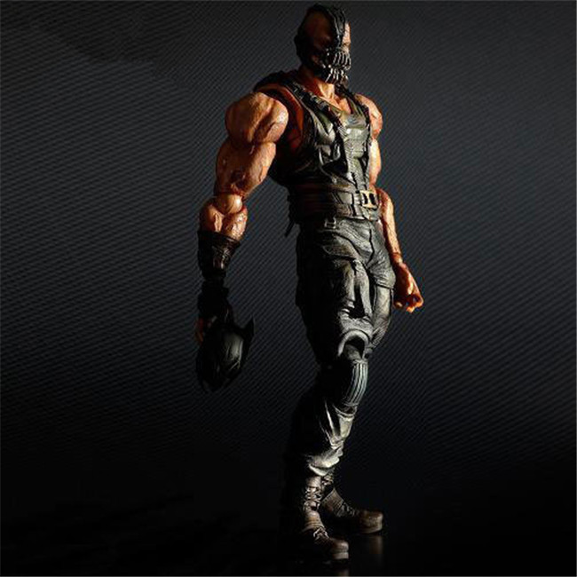 Back To Search Resultstoys & Hobbies Play Arts Kai Figuras No 02 Batman Bane El Caballero Oscuro Sube Pvc Figura De Juguete Modelo Playarts Kai