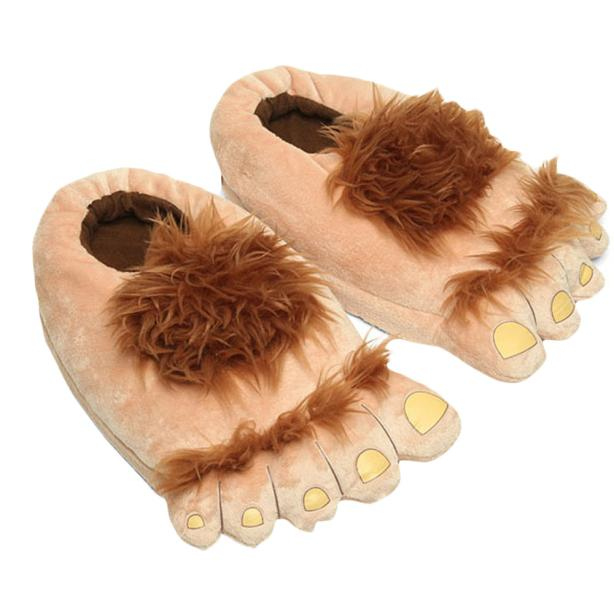 SAGACE 2018 Autumn and Winter Unisex Plush Slipper Big Feet Creative Men And Women Warm Slippers House Indoor Cute Shoes plush slipper expression men and women slippers winter house shoes lovely warm indoor slippers soft plush shoe zapatos de mujers