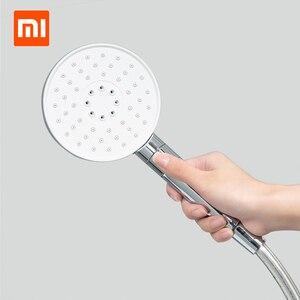 Image 4 - YouPin Dabai pommeau de douche à main tuyau tige de levage ensemble 3 en 1 360 degrés 120mm 53 trou deau avec PVC puissant douche de Massage