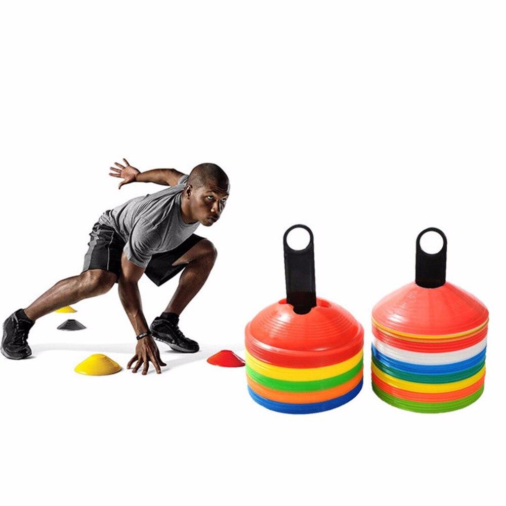 Новый 10 шт./лот 19 см 7,41 дюйма Шишки Маркер Диски Футбол обучение инструменты Soccers спортивные развлечения аксессуары инструменты