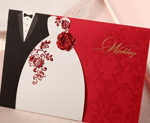 Envío gratis personalizada invitaciones de boda creativo ...