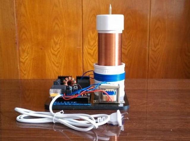 Bobine tesla (générateur) Tesla bobine avec CSST bord du pilote PLLSSTC Solide State Tesla boucle à verrouillage de phase