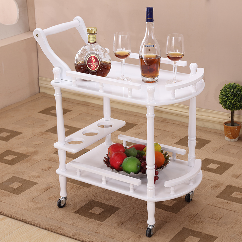 Wfgogo Hotel Trolley Coffee Tables Storage Holders Multipurpose - Corner tree bookshelf