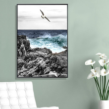 Seascape Pineapple Seagull Canvas Painting Landscape Nordic Posters Prints Wall Art Pictures For Living Room Home Decor